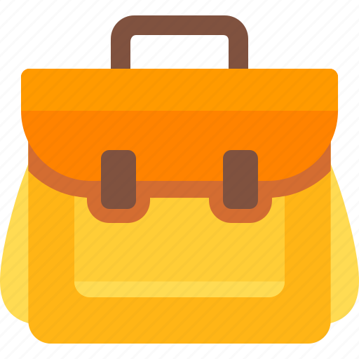 backpack, camping, education, school bag icon