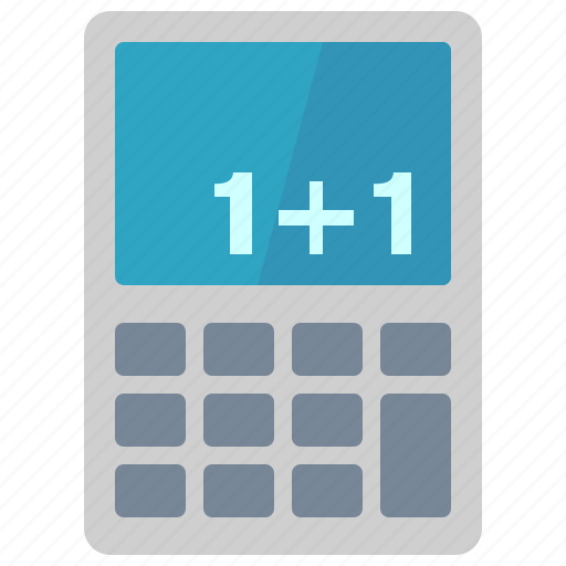 calculator, education, learning, math, mathematics, school, study icon