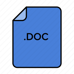 doc, document, office, word icon