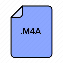 data, document, documents, extension, file, file format, files, film, format, game, m4a, media, movie, multimedia, music, paper, play, player, video icon
