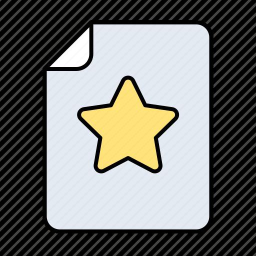 Fav, rating, star, bookmark, data, favorite, network icon - Download on Iconfinder