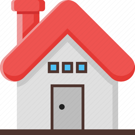 building, estate, home, house, location, place, real icon
