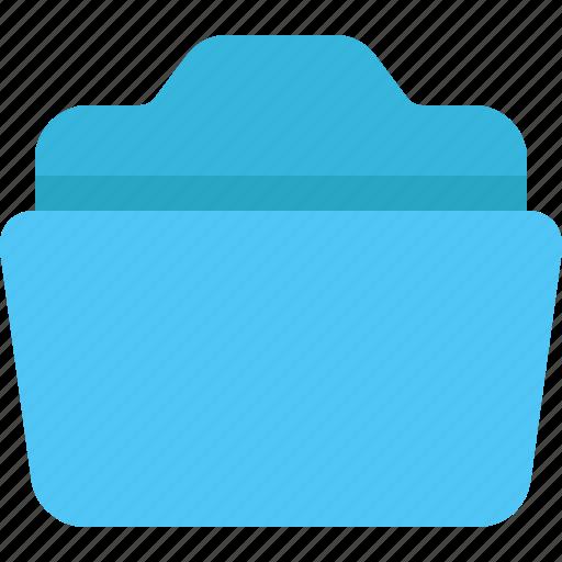 archive, data, folder, open icon