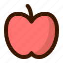 apple, food, fruit, fruits, gastronomy, healthy, sweet icon
