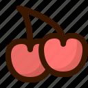 cherries, fruits, berry, food, fruit, healthy, sweet