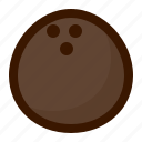 coconut, food, fruit, fruits, healthy, sweet, tropical icon