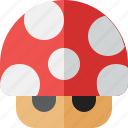 bros, game, mario, mushroom, toy, videogame icon