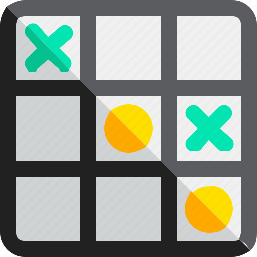 Game, strategy, tac, tic, toe, toy, videogame icon - Download on Iconfinder