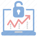 access, breaches, log, protection icon