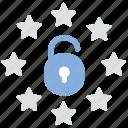 data protection, eu, gdpr, lock icon