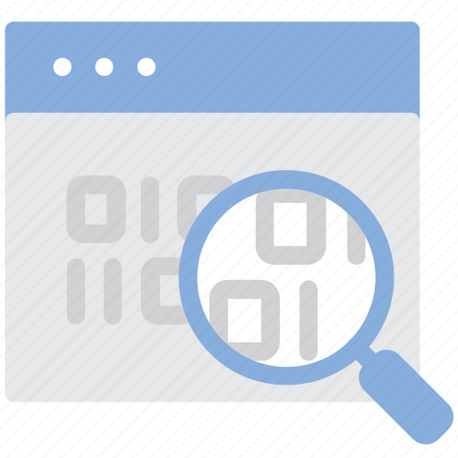 audit, data, information, webpage icon