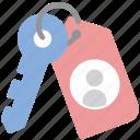 data, encryption, key, personal icon