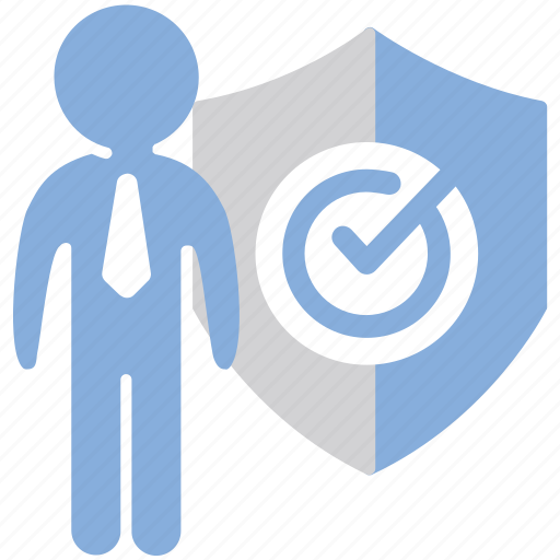 audit, officer, protection, shield icon
