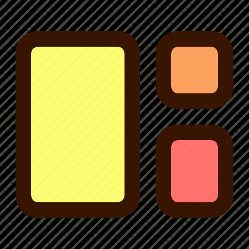 canvas, distribution, graphics icon