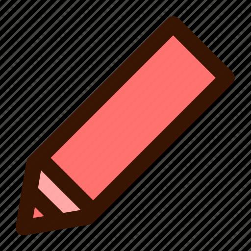 color, draw, graphics, paint, pen, pencil icon