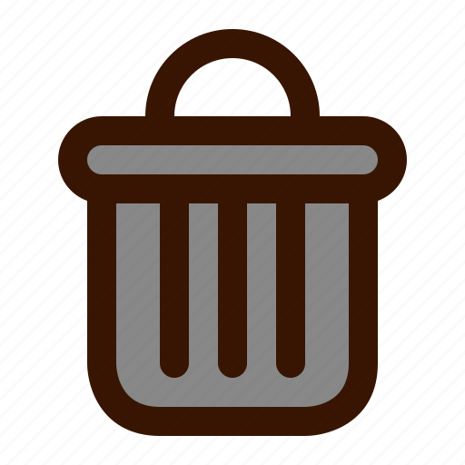bin, can, graphics, recycle, trash icon