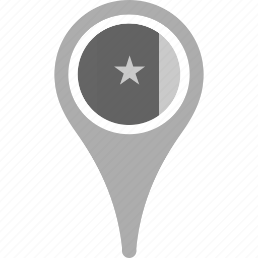 cameroon, country, county, flag, map, national, pin icon