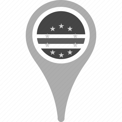 cape verde, country, county, flag, map, national, pin icon