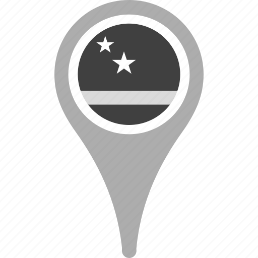 country, county, curacao, flag, map, national, pin icon