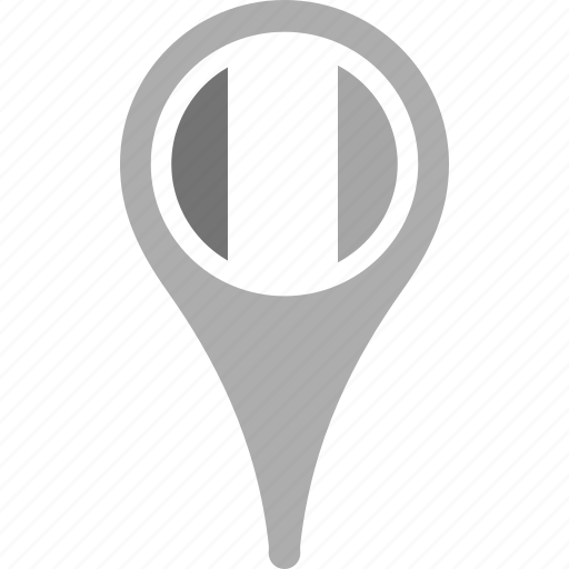 country, county, flag, ireland, map, national, pin icon