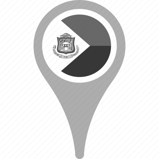 country, county, flag, map, national, pin, sint maarten icon