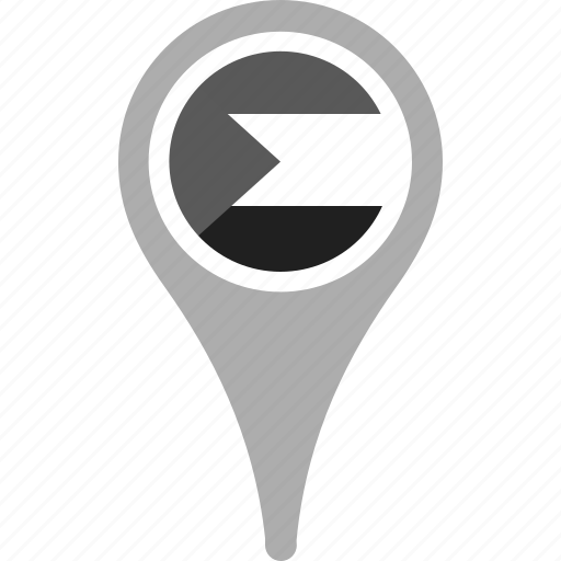 country, county, flag, map, national, pin, sudan icon