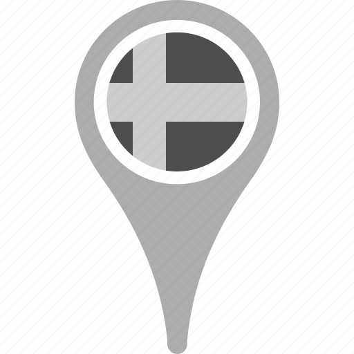 country, county, flag, map, national, pin, sweden icon