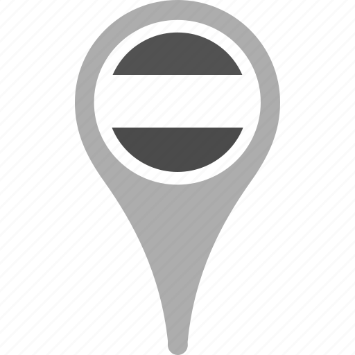country, county, flag, map, national, pin, the netherlands icon