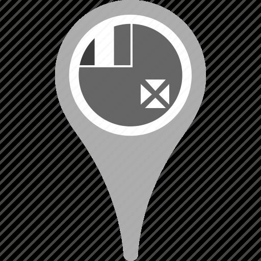 country, county, flag, map, pin, wallis and futuna icon