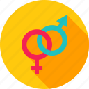 gender, love, man, sex, woman icon