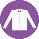 bow, shirt, tie icon