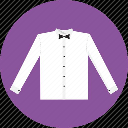 bow, shirt, tie icon
