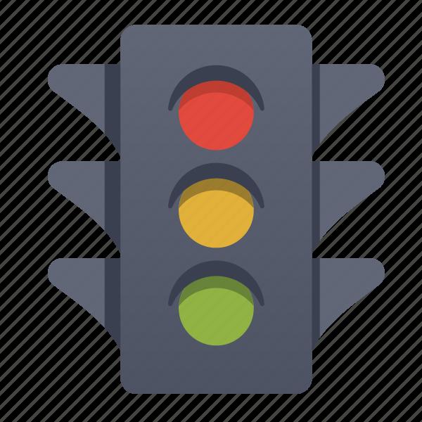 start, stop, traffic icon
