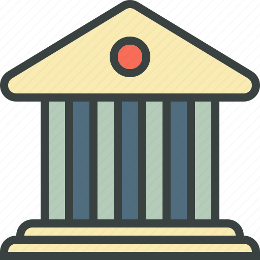bank, banking, bankster, commercial, debt, deposit, institution, margin, money, mortgage, save, spend icon