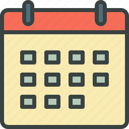 appointment, birthday, calendar, date, holiday, month, schedule, week, year icon