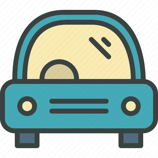 car, commute, family car, journey, travel, vehicle icon