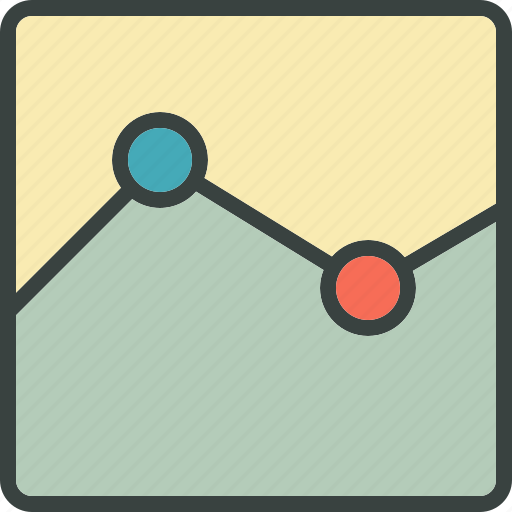 analyze, chart, line, line chart, report, reports, statistics, stats icon
