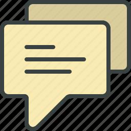 bubble, chat, chat bubble, comment, comments, talk icon