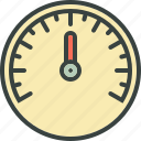 dashboard, speed, speedometer icon