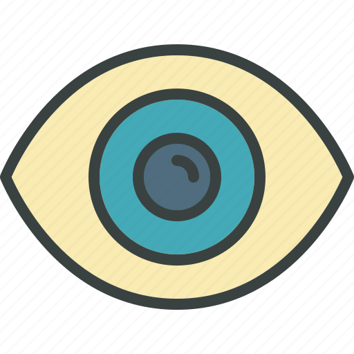 explore, eye, find, look, open, search, seek, sight, visible icon