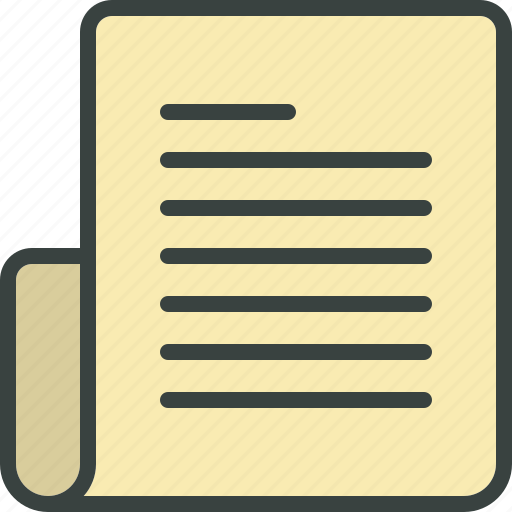 article, blog post, content, file, list, page, paper, script, text icon
