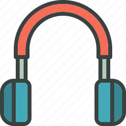 audio, headphones, hear, melody, music, song, volume icon