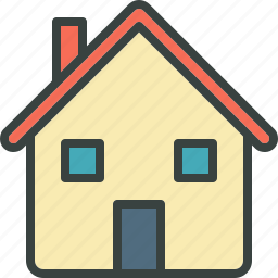 building, family, family home, family house, home, house, neighbourhood, residential, suburb icon