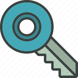 key, key chain, lock, locked, password, password protected, protect, security icon