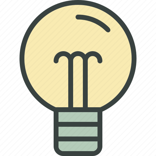 bulb, electric, electricity, light, light bulb, power icon
