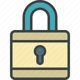 lock, locked, password, password protected, protection, secure, security icon