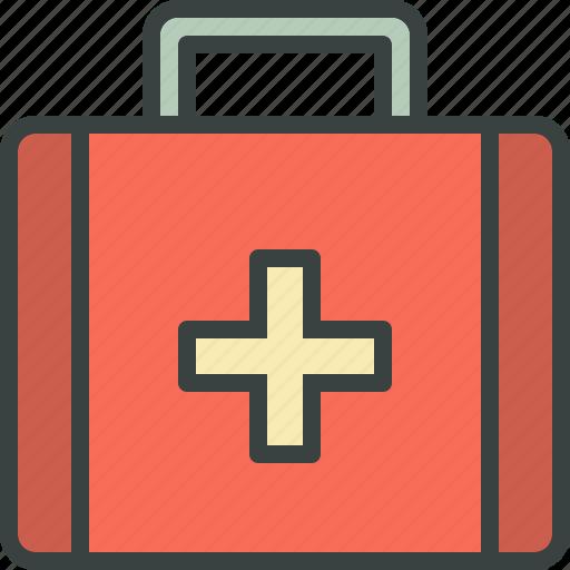 first-aid, kit, med, med-kit, medical, medicaments, medicine icon