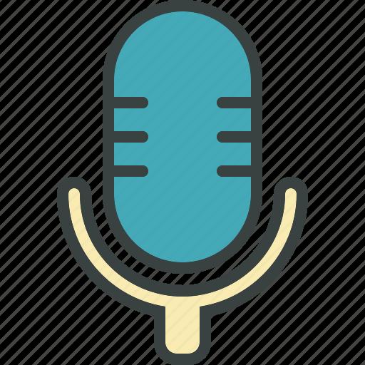 audio, microphone, radio show, record, recording, sound, studio, talk, talking, volume icon