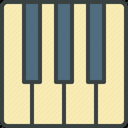 audio, concert, maestro, music, piano, virtuoso, volume icon