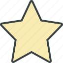 bookmark, favorite, rate, star, starry icon